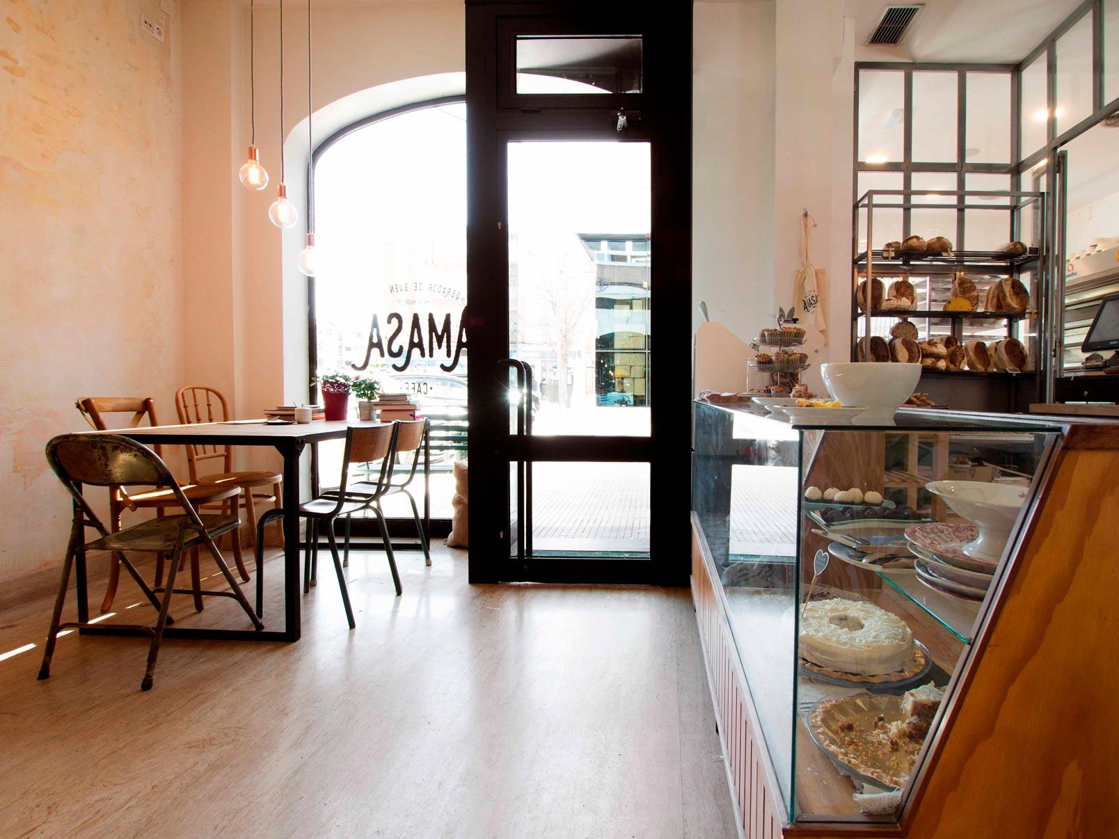 Panadería Amasa por dentro