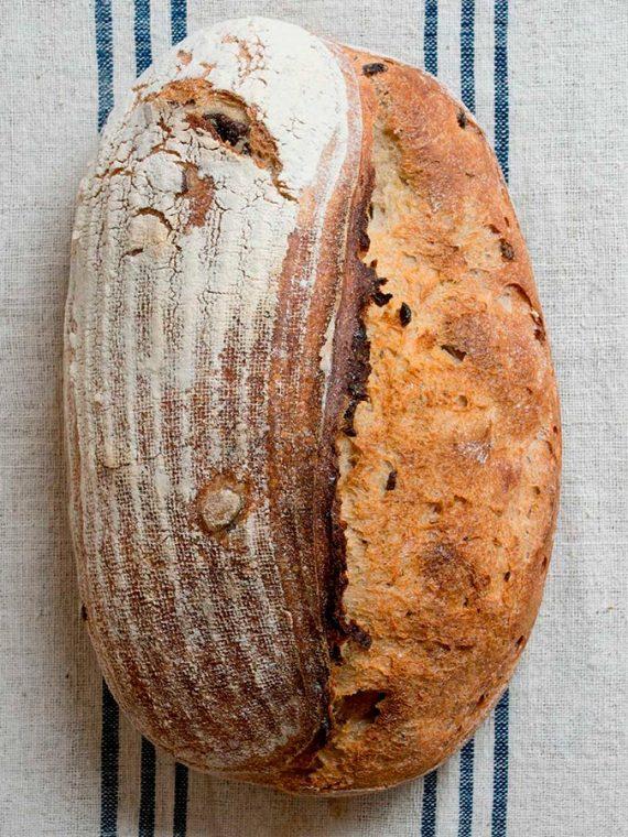 Pan de Aceitunas y Tomillo