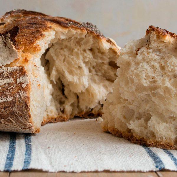 Pan Blanco de masa madre