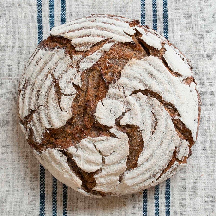 Pan de Centeno100% con Miel