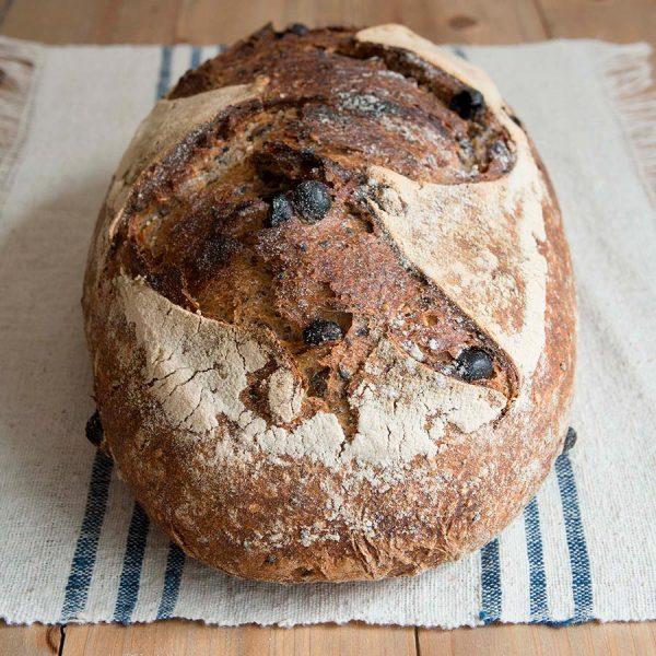Pan de 7 semillas y pasas