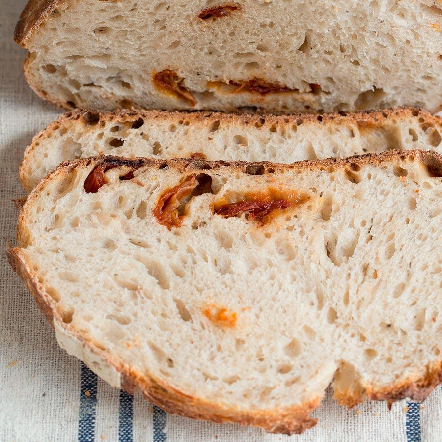 Pan de Tomate y Orégano