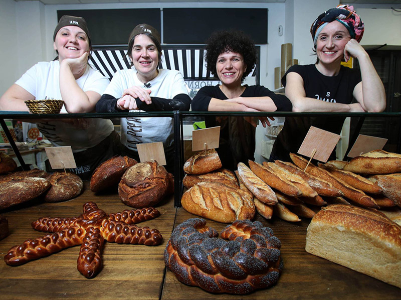 las panaderias de Madrid han vuelto